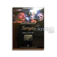 Gudang Garam Exclusive 16s gudang garam surya pro professional 16 kretek filter