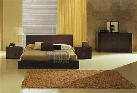 modern bedroom color schemes modern bedroom with yellow color d s furniture