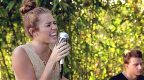 miley cyrus jolene the backyard sessions