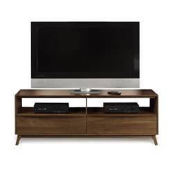 Dining Room Consoles modern catalina walnut tv stand console american made