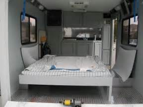 Travel Trailers With Bunk Beds Floor Plans by Best 25 Cargo Trailer Camper Ideas On Pinterest Cargo