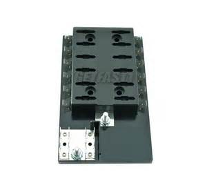 per 6063 ato atc fuse block panel 12 12 volt blade style fuses with grounds