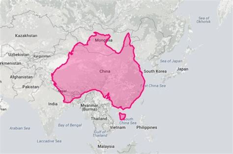 comparing asian politics india china and japan books compare australia s size to other countries