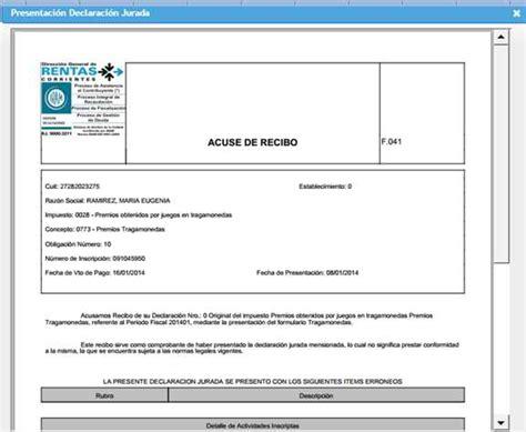 acuse de recibo digital formato acuse de recibo formato de acuse de recibo