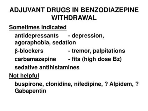 After Detoxing From Drugs Depression by Ppt History Of Benzodiazepines What The Textbooks May
