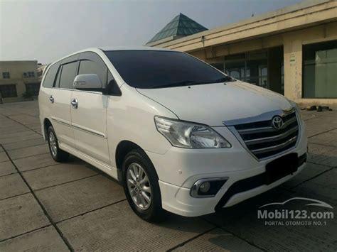 Toyota Kijang Innova V 2014 jual mobil toyota kijang innova 2014 v luxury 2 0 di dki