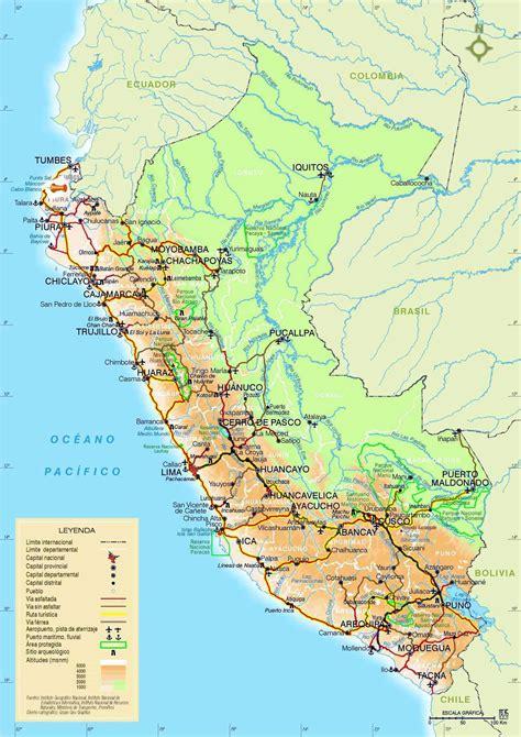 maps maps peru maps printable maps of peru for