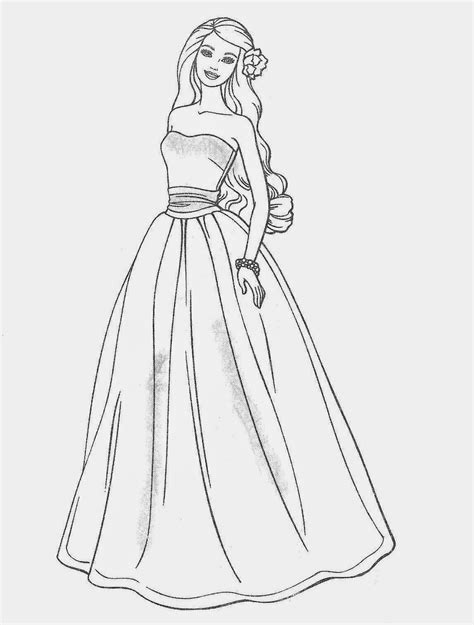 barbie wedding coloring pages timeless miracle com