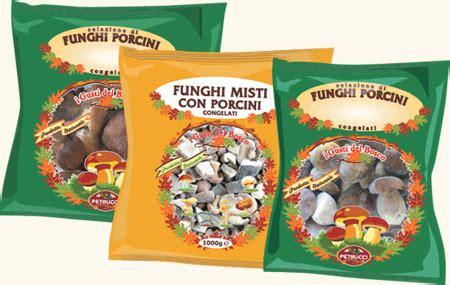 alimenti congelati petrucci funghi freschi secchi e congelati alimentari
