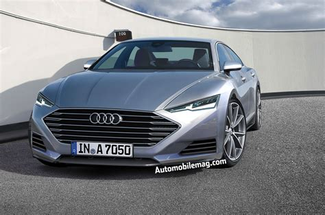 new audi a7 dive the 2017 audi a7 gets squeezed into a new shape