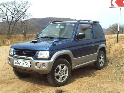 mitsubishi mini dimensions 1998 mitsubishi pajero mini automatic related infomation