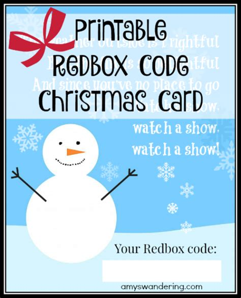 Buy Redbox Gift Card In Store - gift ideas the whole family will love amy s wandering
