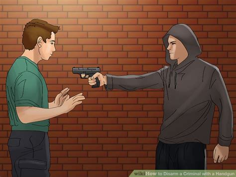 Where To Check If Someone Has A Criminal Record 3 Ways To Disarm A Criminal With A Handgun Wikihow