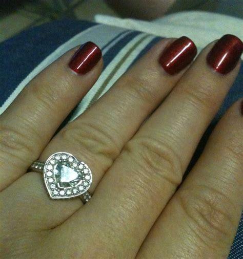 shaped diamonds anyone weddingbee
