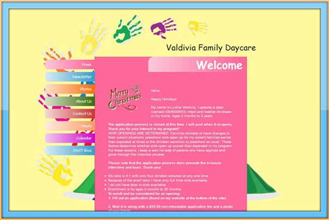 Child Day Care Centers Home Daycare Family Child Care Find Child Care Home Daycare And Class Website Template