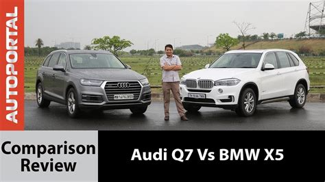 Bmw X5 Vs Audi Q7 by Bmw X5 Vs Audi Q7 Test Drive Comparison Review