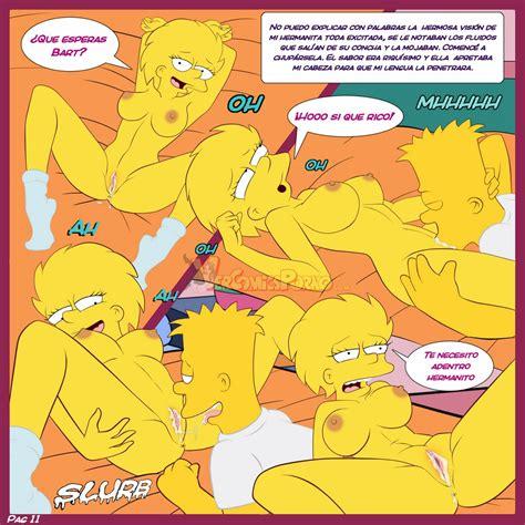 Comic Nuevo De Los Simpson Poringa