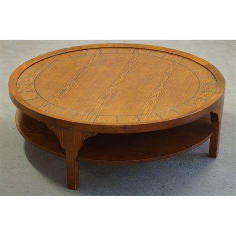 table basse ronde en ch 234 ne 233 es 50 design market