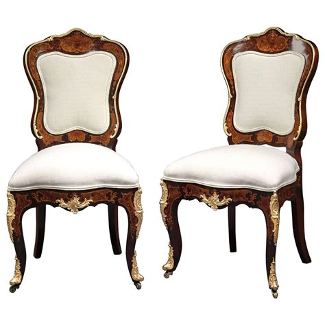 Louis 15th Chairs by Louis Xv Style Side Chairs For Sale At 1stdibs