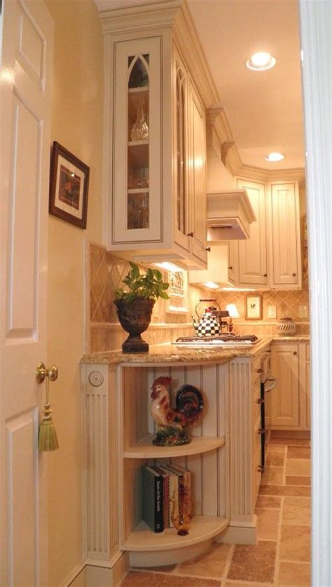 kitchen end cabinet cabinets shelves and roosters on pinterest