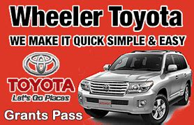 Wheeler Toyota Grants Pass Southern Oregon Businesses