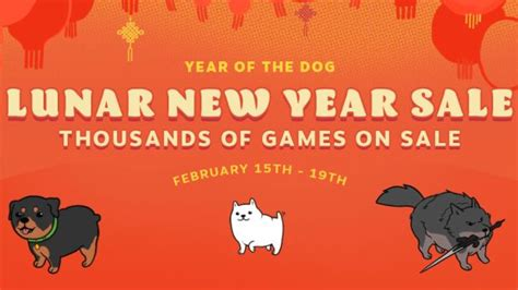 new year 19th february steam lunar new year sale now live ends on february 19th