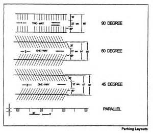 Parking Garage Design Layout Parking Garage Plan Dimensions 220 58 Off Street Parking