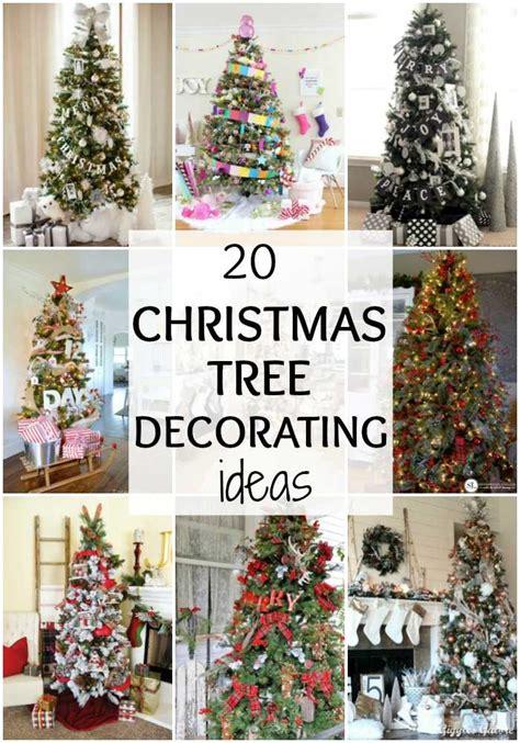 amazing christmas interiors 20 amazing tree decorating ideas a blissful nest