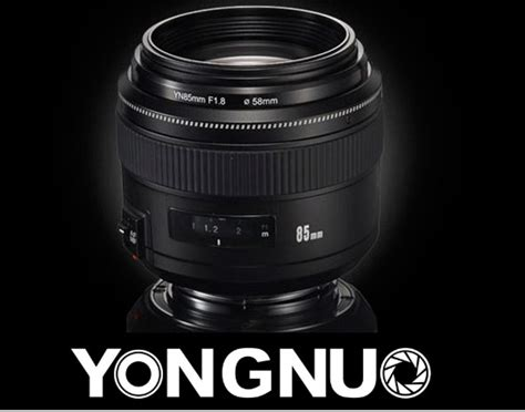 Yongnuo 85mm F 1 8 Lens For Canon yongnuo yn 85mm f 1 8 lens images leaked lens rumors