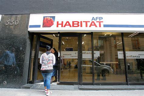 afp habitat el robo de las afp habitat tiene utilidades diarias de