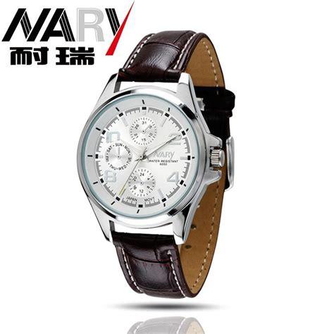 Jam Tangan Dw Brown 1 nary jam tangan analog kulit 6050 brown white jakartanotebook