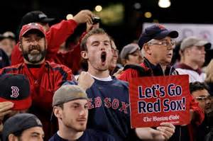 boston sox fans fans can root and write at same the obnoxious