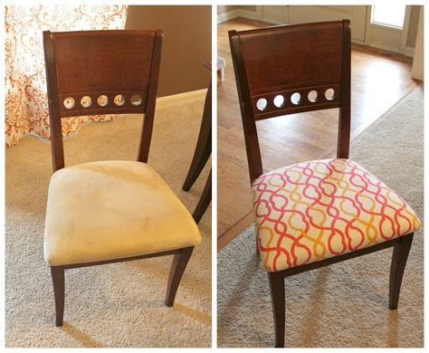 Dining Room Chairs Recovered How To Recover A Dining Room Chair Tessie Fay