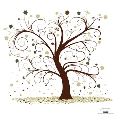 abstract vector winter tree design 手作りのウェディングツリーに役立つ無料ベクターイラスト素材まとめ ai eps svg free style