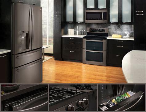 black stainless steel lg black stainless steel series appliancesconnection