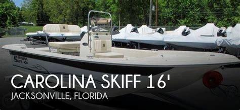 carolina skiff jet boat for sale used 2014 carolina skiff 16 jvx cc in