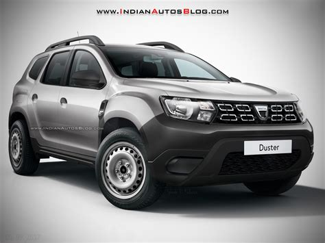 renault duster 2017 white sub 163 10 000 2018 dacia duster base model rendered
