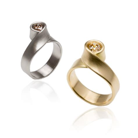contemporary engagement rings orro jewellery glasgow