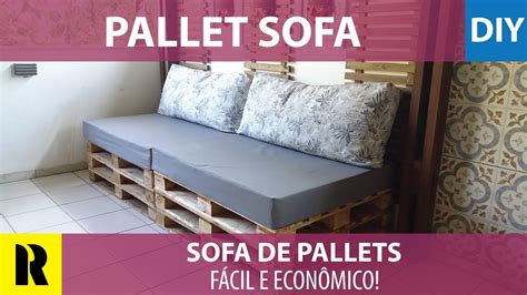 do it yourself sofa sof 225 de pallets f 225 cil de fazer do it yourself pallets