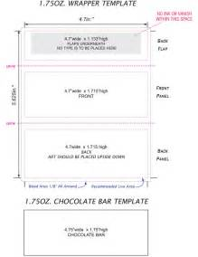 Hershey Labels Template by Best Photos Of Printable Bar Wrapper Template