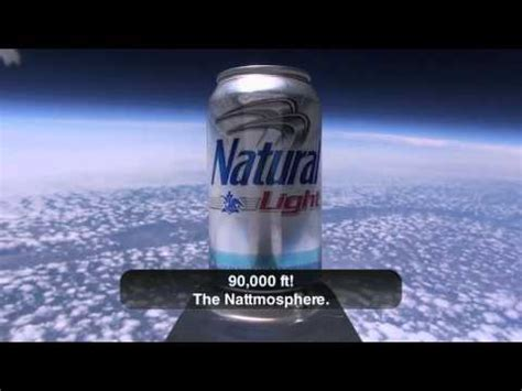 who makes natural light beer beeranyone natty light makes it to space in case you were