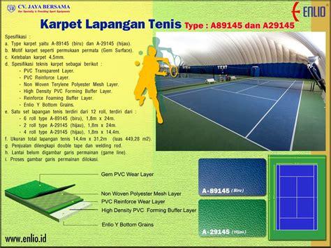 Karpet Badminton Yonex enlio id jual karpet lapangan olahraga