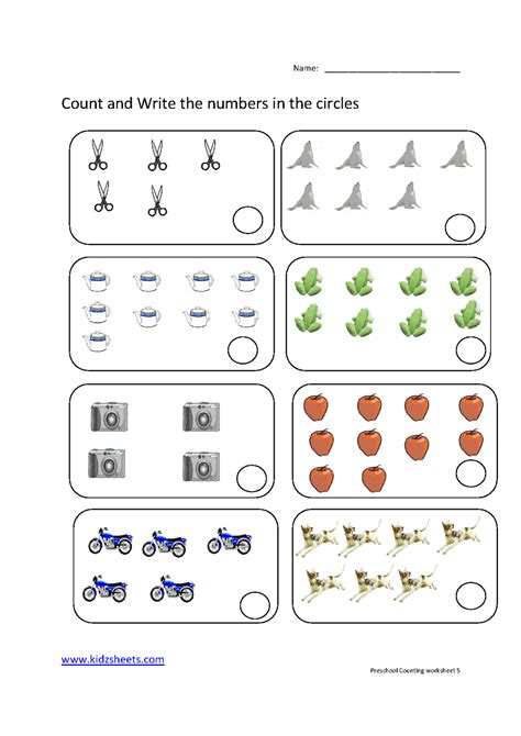 free printable preschool counting worksheets worksheet free printable counting worksheets hunterhq