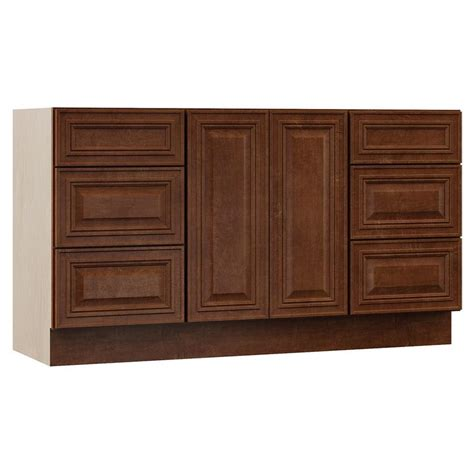 rsi bathroom vanities shop villa bath by rsi cognac bathroom vanity common 60