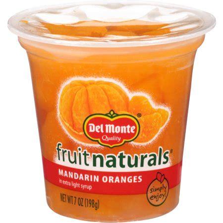 Syrup Fruity 183 monte fruit naturals mandarin oranges in light