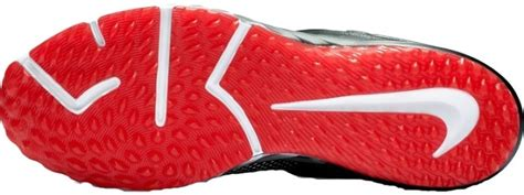 baseball pattern high heels turf shoes