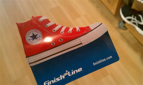 Finish Line Gift Cards - finish line chuck taylor gift card chuckverse com