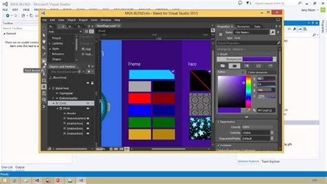 xaml ui layout designing your xaml ui with blend 03 xaml design and