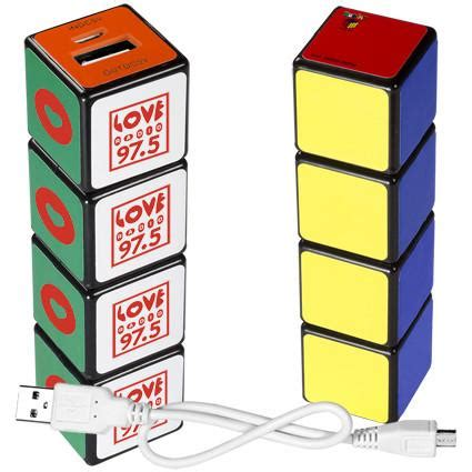 Cool Tradeshow Giveaways - rubik s 174 cube phone charger custom phone charger unique
