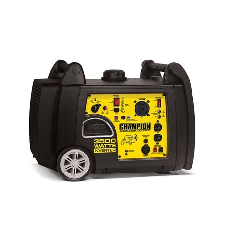 chion 3500 watt inverter portable generator chion